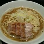 自家製麺 伊藤 - [1回目]肉そば 中(850円)