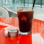 クレプスキュール・カフェ - アイスコーヒー(ランチセットドリンク)