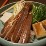 Shourenkanyoshinoya - 夜。間人ガニを食べに行ってきました。