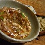 凡味 そばきり - 天付き鴨汁蕎麦