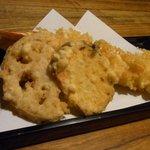 凡味 そばきり - 天ぷら