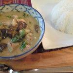 パサタイ - ゲンキョーワン(鶏)とライスです