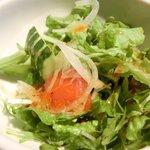 ゴールデンタイムス - 博多リゾンバ 500円 のサラダ