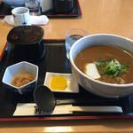 35164122 - カレーうどん定食(^O^)
