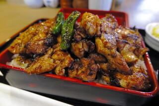 おが和 - 肉、ご飯大盛り(ダブル)
