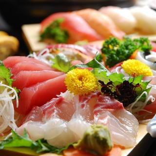 ◆漁港直送の鮮魚、市場直送ネタをお手軽価格でお届けします♪