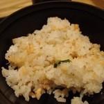 35166019 - 鮭と三つ葉の混ぜご飯