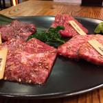 焼肉台所家 - 本日の鮮肉盛合せ