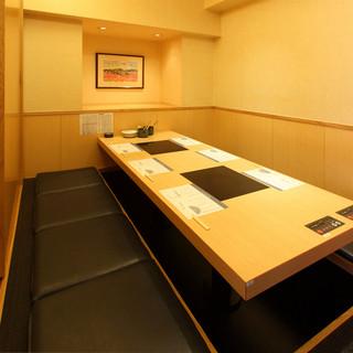 個室もあります。さまざまなお集まりに対応させていただきます。