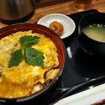35168910 - 炙り名古屋コーチン親子丼(1,134円)