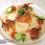 3517590 - 鮮魚のマリネ、ラベンダー風味