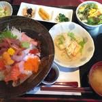 ゆずや - 特選海鮮丼定食¥1480