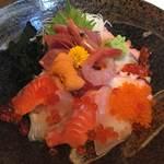 ゆずや - 特選海鮮丼定食¥1480 うまいです!