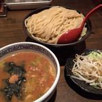 35171136 - 《ちょこっと野菜+つけ麺》780円                       2015/2/16