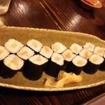 かめ吉 - 〆の巻き寿司