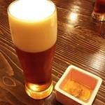 かめ吉 - ドリンク写真:恵比寿ビールなまと雲丹