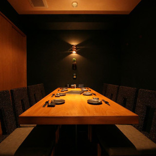 ご宴会・接待に最適な個室空間。