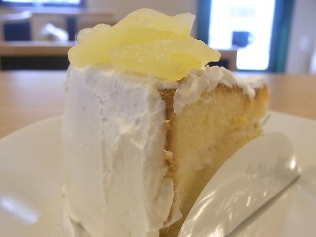 自家焙煎香房 M's珈琲 - りんごの手作りケーキ¥?☆♪