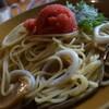 吉野ダイニング - 料理写真:いかと明太子スパ