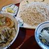つつみ庵 - 料理写真:ざるとミニ天丼のセット