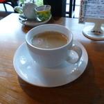 モカモアコーヒー - 夫はカフェオレを。