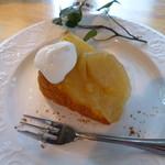 モカモアコーヒー - 本日のケーキはアップルケーキ。