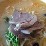 四季園 - 坦々麺のチャーシュー