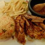 エルボラーチョ - 鶏モモ肉のメキシカンソテー