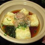 カサブランカ - 揚げ出し豆腐