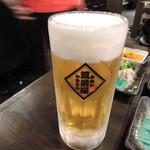 筑前屋 - 生ビール480円