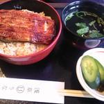 35180067 - うな丼1,750円+肝吸い・新香セット160円