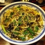 劉 - まかない麺 730円