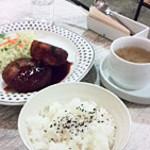 シエロアスール・カフェ - 自家製コロッケ定食