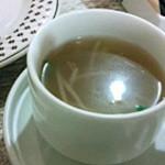 シエロアスール・カフェ - Dish Setのスープ