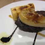 料理家 中野 - 料理写真:牛ほほのステーキ、フォアグラ添え