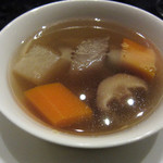 35184890 - 根菜類の滋養蒸しスープ