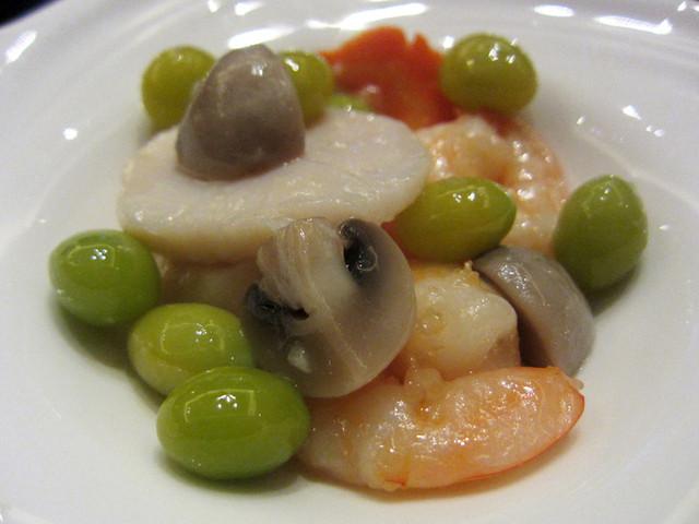 チャイナシャドー - 銀杏入り小海老と帆立貝の炒め物