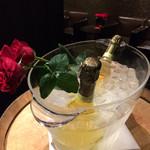 リストランテ・ヒロ  - シャンパン