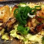 こいのぼり - 牡蠣バター焼き