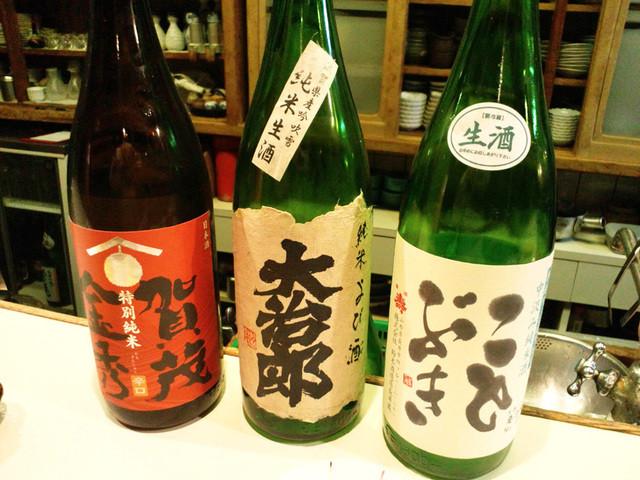 北龍 - 日本酒の品揃えが充実(2015.2月)