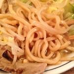 ZIKKA - N二郎ラーメン麺拡大