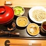 鼓道 - 極 地鶏親子丼 ミニセイロ蕎麦
