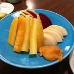 35189890 - 鎌倉野菜の味噌ディップ