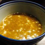 麺や ポツリ - つけ汁