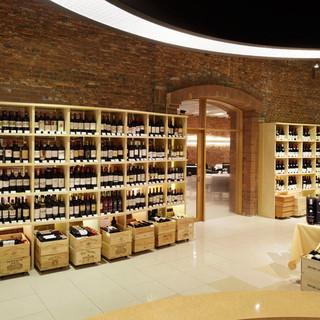 ワイン好きには堪らない空間