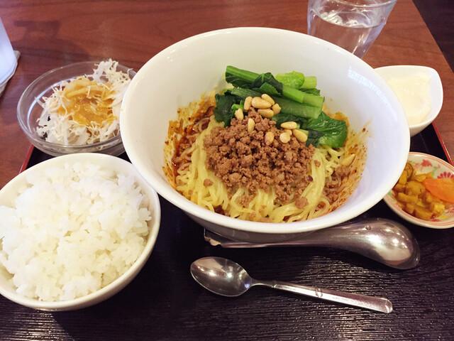 蔓山 - 成都担々麺¥1000(ランチセット)