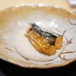 ナミダ - 鯖スモーク 里芋の含め煮ピュレ