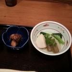 35193650 - 野菜のタキタキと牡蛎の煮物