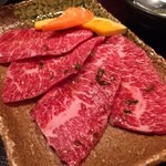 おくう - 和牛上カルビランチ ¥1580