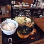 長尾 - 今日は生姜焼き(C定食)